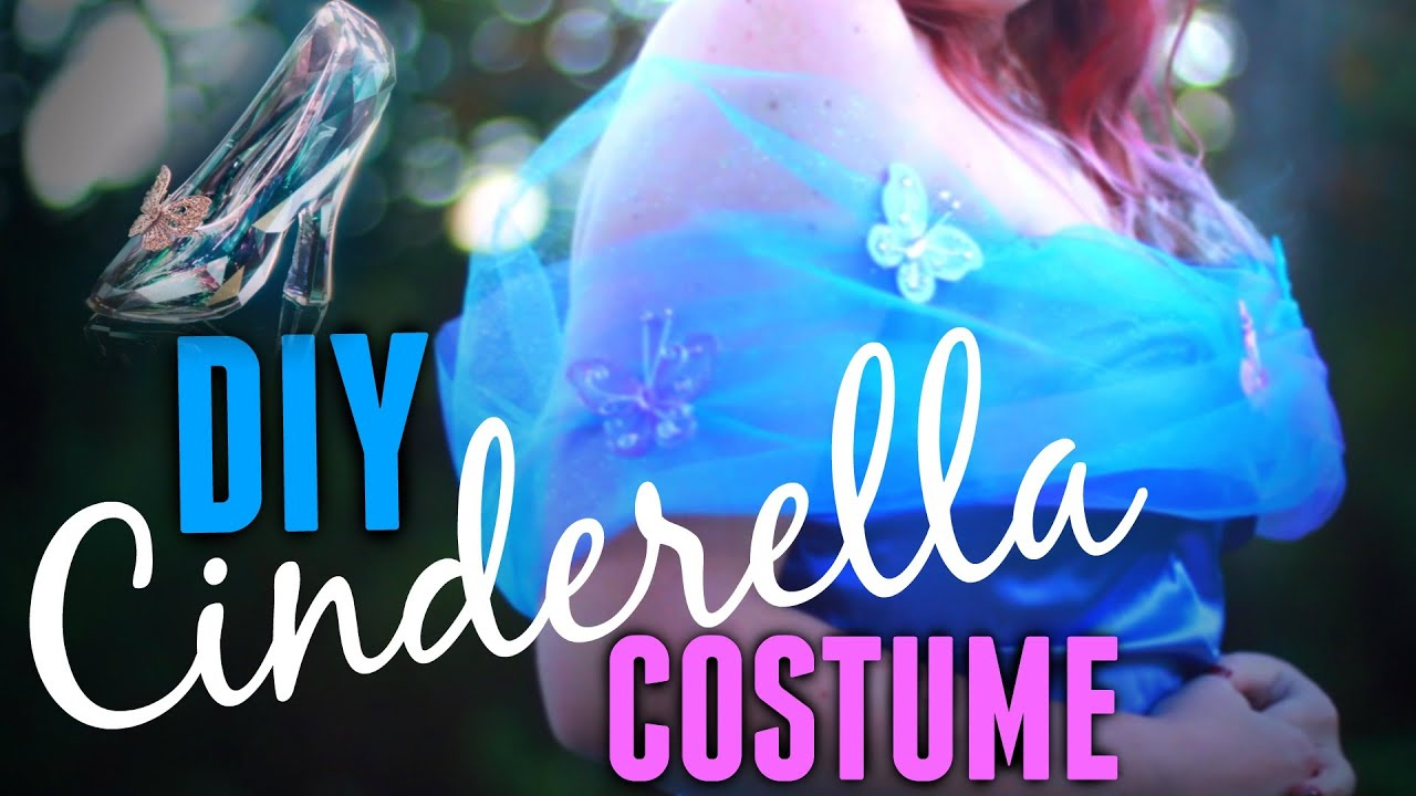 Diy cinderella halloween costume youtube solutioingenieria Images