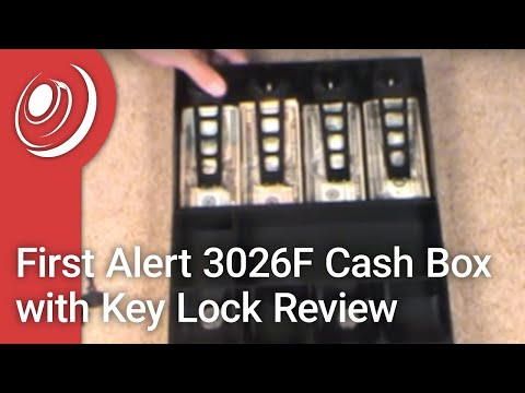 First Alert 3026F Cash Box With Key Lock Review