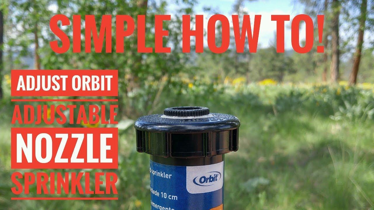 "400-Series Prof Pop-Up Sprinkler Spray Head with Nozzle-2 Pack Orbit 54182 2/"""
