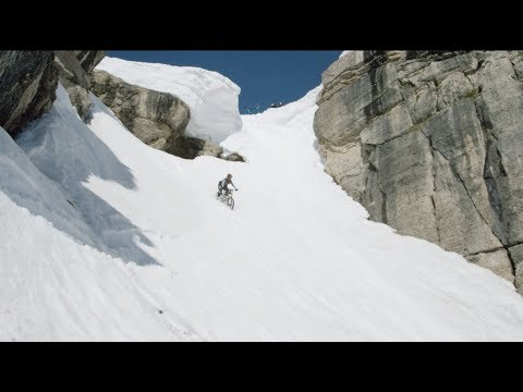 How We Dropped Corbet's Couloir on a Mountain Bike