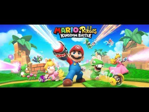 Mario + Rabbis kingdom Battle part 1: Unlikely heroes