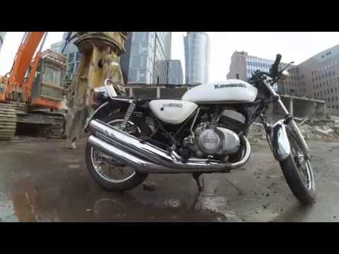 1979 kawasaki KH 250 sound ONESTO motocykle Warszawa