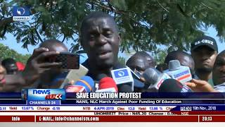 NANS, NLC March Against Poor Funding Of Education