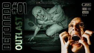 Outlast [TERROR] - Parte 1: Inicio Macabro [ Detonado Playthrough em PT-BR ]