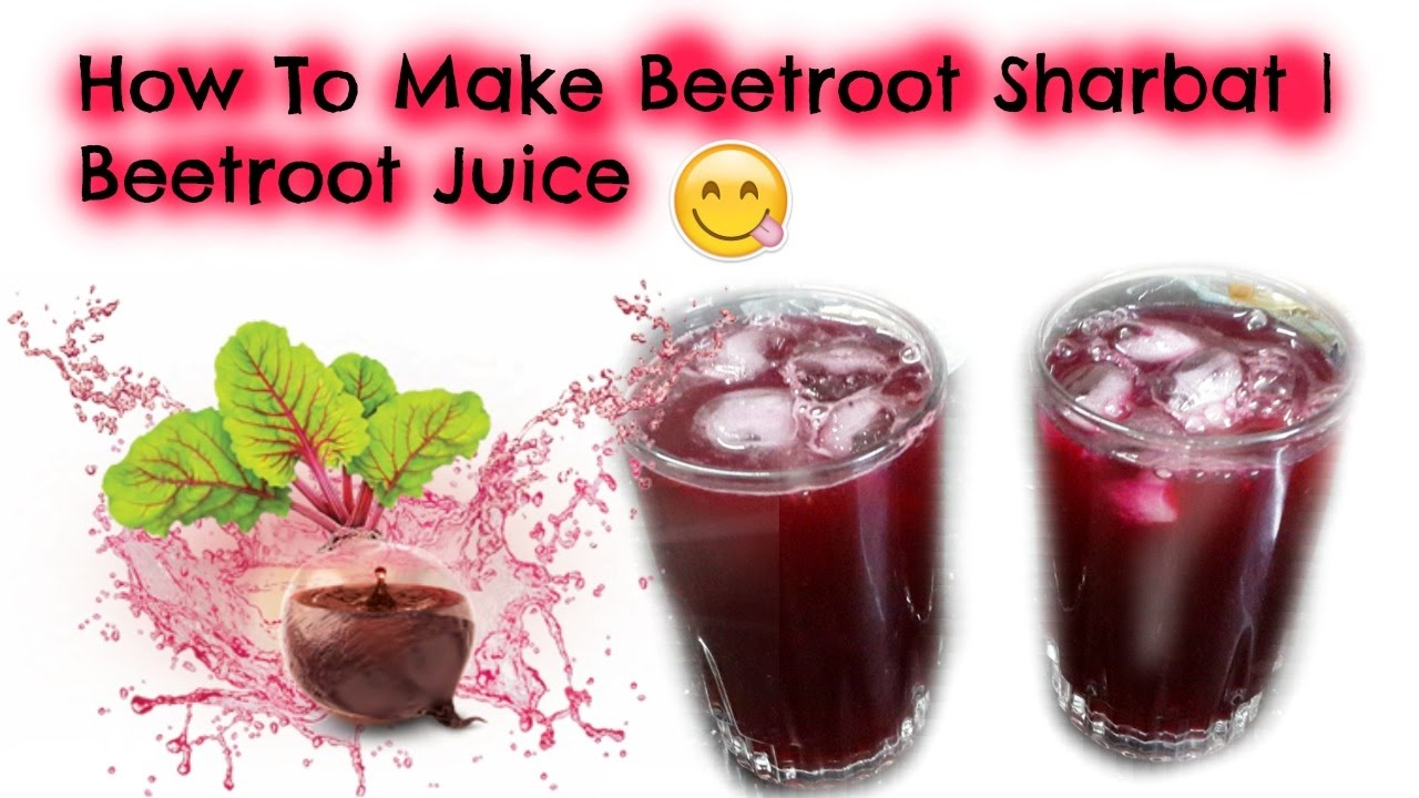 how to use beetroot in juice