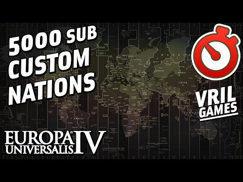 EU4 Custom Nation Timelapse | 5000 Subscriber Special