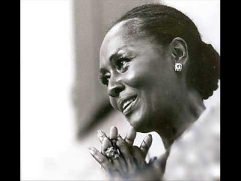 "Shirley Verrett, operatic star, sings ""Oh Freedom"""