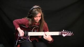 Великолепное исполнение соло на гитаре