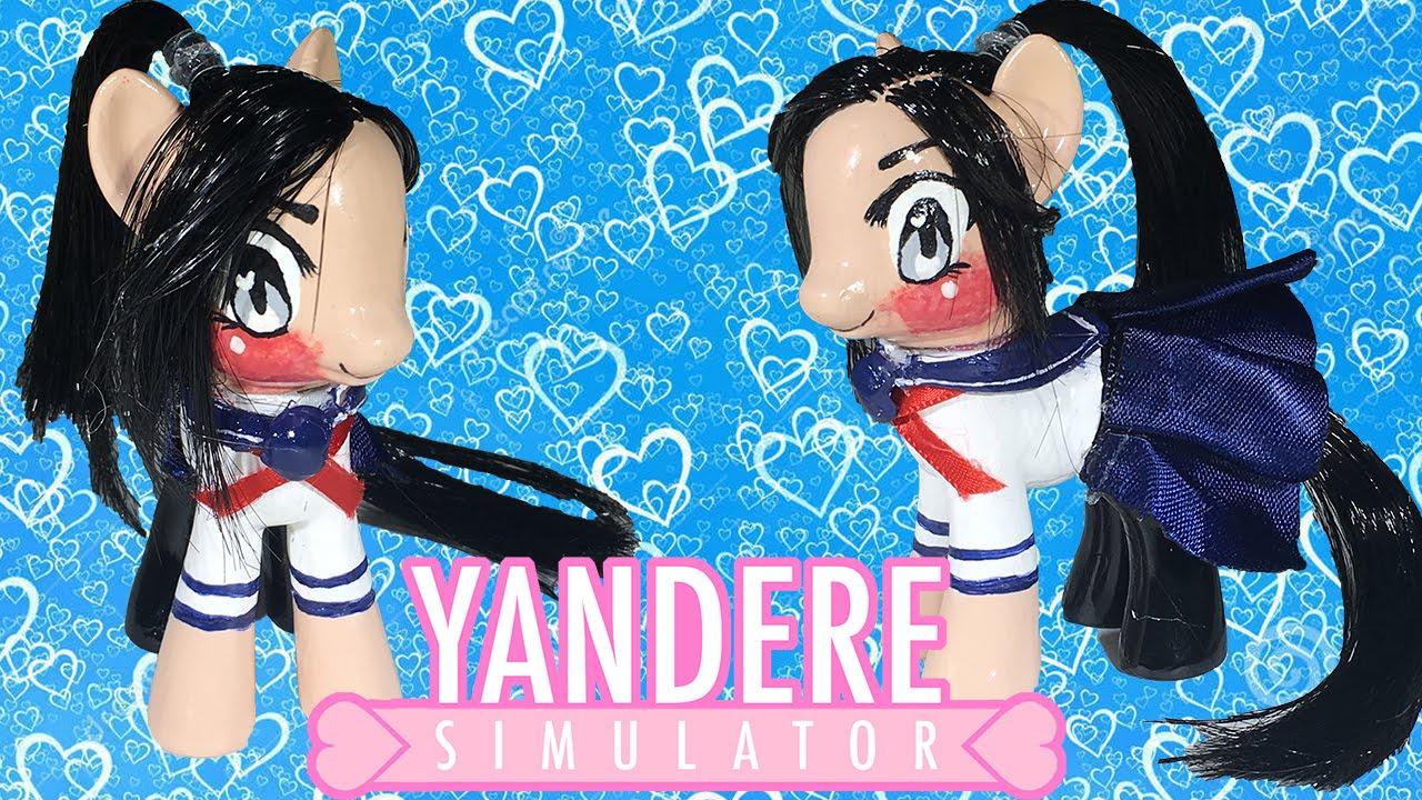 Custom Yandere Simulator Mlp Yandere Chan My Little Pony Tutorial