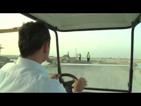 Visit to 'Germany' in Dubai – Work begins again on Dubai's World Islands – BBC News