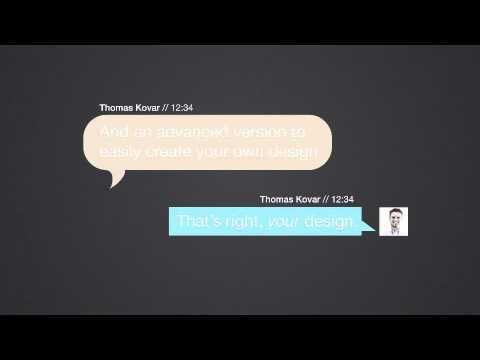 Text message kit videohive templates after effects for Free after effects text templates