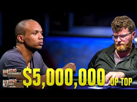 Phil Ivey's MIND TRICKS With A Full House | $300,000 Poker Tournament