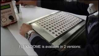 Flexadome UV Doming System