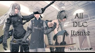 『Nier: Automata』All DLC exclusive Outfits & Items