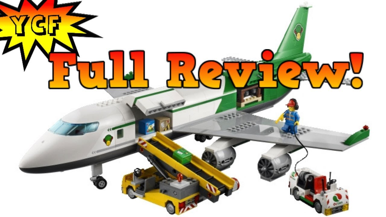LEGO CITY Cargo Terminal Review - LEGO 60022 Airplane - YouTube