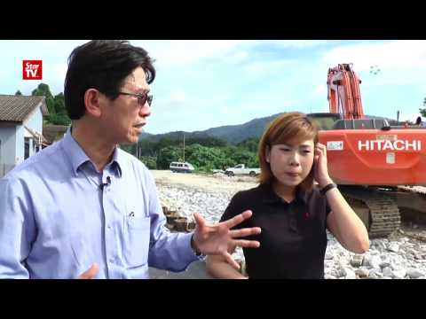 Geotechnical Engineer: Landslide most probably caused by water pipe leakage