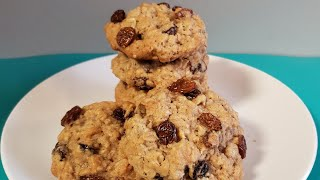 How To Make Vanishing Soft and Chewy Oatmeal Raisin Cookies