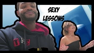 PRIVATE SEXY LESSONS ON MY BED