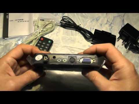 видео: Посылка  №294 mtv boks телевизор приставка для монитора, тест и обзор