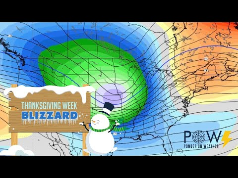 Thanksgiving Week Blizzard - POW Weather Channel