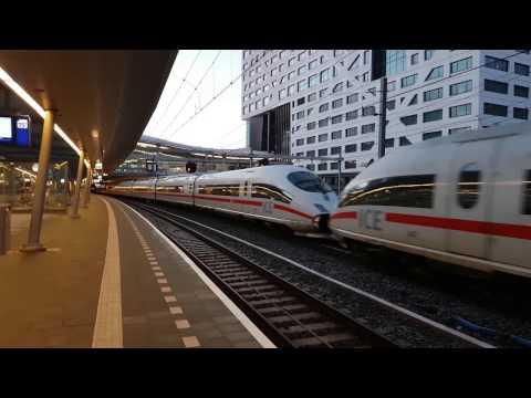DB 2x ICE 3M trein vanuit station Utrecht Centraal naar Basel SBB