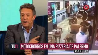 Video: Le robaron 6000 mil dólares en una pizzería y nadie hizo nada para ayudarla