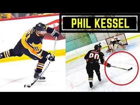 I USED PHIL KESSEL'S STICK!