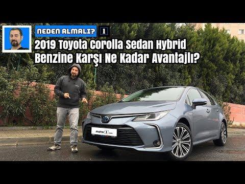 Yeni 2019 Toyota Corolla Sedan Hybrid | Benzine Karşı Ne Kadar Avantajlı? | Neden Almalı?
