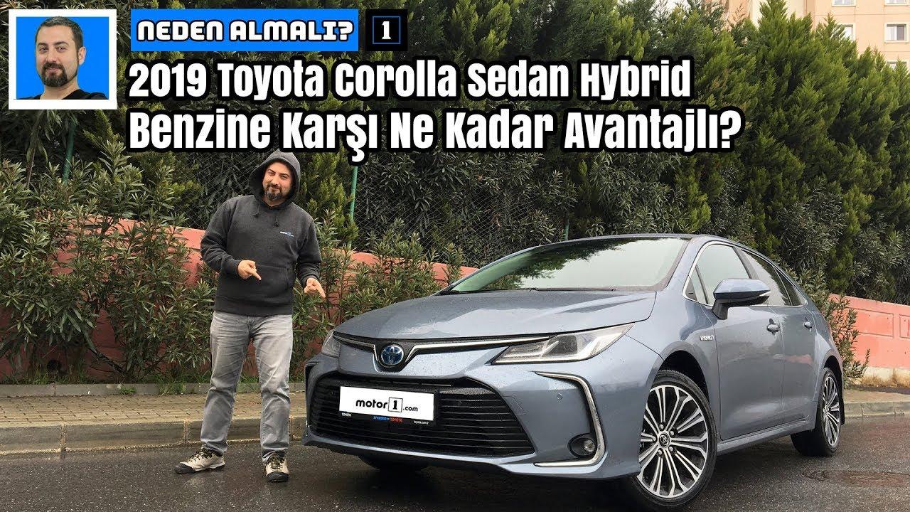 Download Yeni 2019 Toyota Corolla Sedan Hybrid | Benzine Karşı Ne Kadar Avantajlı? | Neden Almalı?