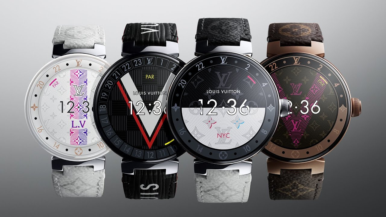 f741aee6983c5 Louis Vuitton s New Tambour Horizon Connected Watch - YouTube