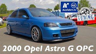 2000 Opel Astra G OPC inkl. Car Porn und Sound-Check - Ausfahrt.tv Tuning - Oschersleben 2019