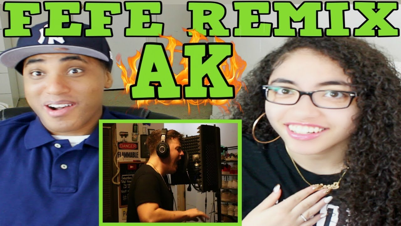 IAMTHEREALAK FEFE (REMIX) REACTION   MY DAD REACTS