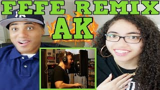 IAMTHEREALAK FEFE (REMIX) REACTION | MY DAD REACTS