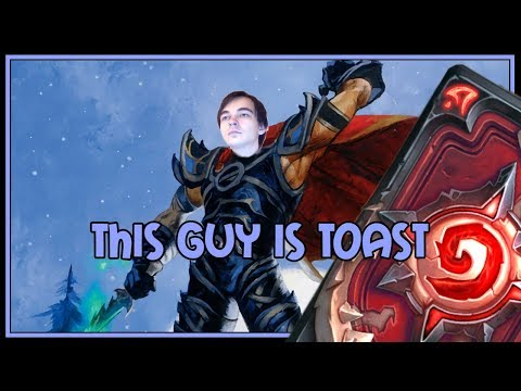 Hearthstone: This guy is toast (aggro rogue)