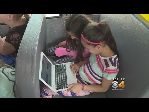 Wi-Fi On Rural School Buses Aims To Close Homework Gap