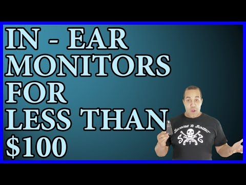 How To Make an In-Ear Monitor System for Under $100