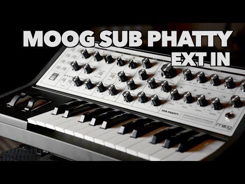Moog Sub Phatty External Input