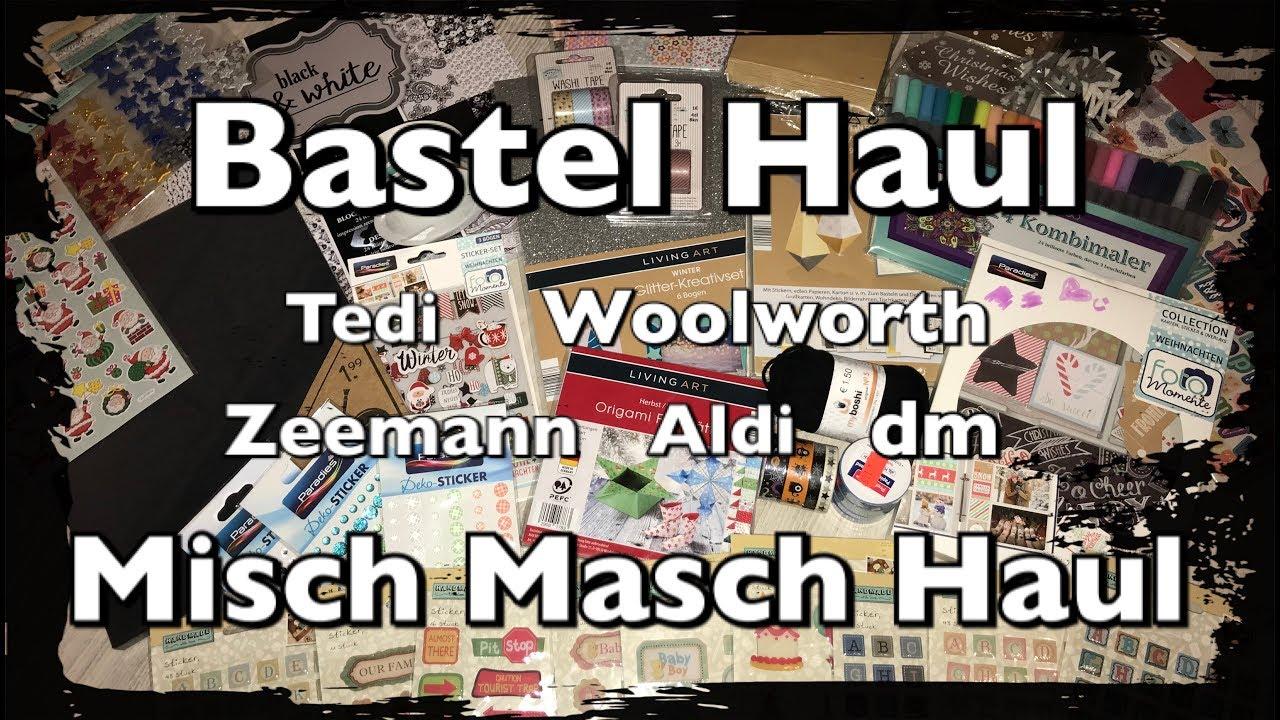 Exquisit Collage Basteln Dekoration Von Misch Masch Haul Bastel Haul, Tedi, Woolworth,
