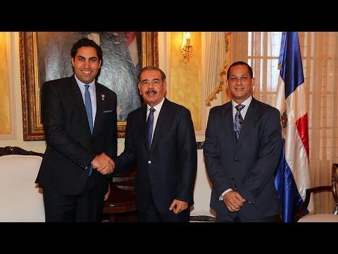Danilo Medina recibe visita de enviado de Naciones Unidas para la Juventud