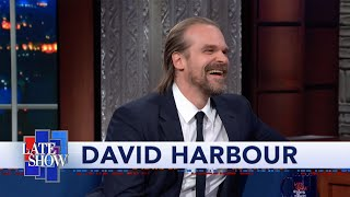 Download David Harbour Didn't Think 'Stranger Things' Was Going To Be A Hit Mp3 and Videos