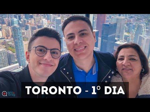 Finalmente conhecemos Toronto - 1º dia