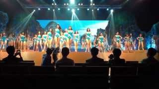 MISS UNIVERSE THAILAND 2013 Opening Number dress rehearsal