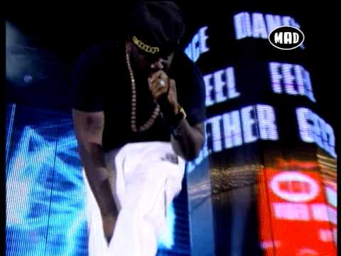 "T-Pain ""Electro Man-Hey Baby (Drop it to the floor) - Mad Video Music Awards 2011"