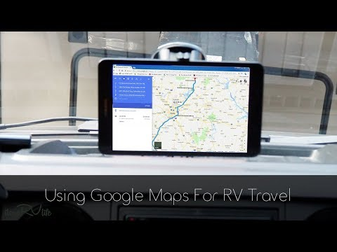 Using Google Maps For RV Travel