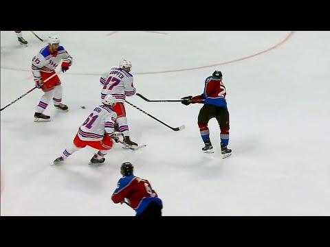 MacKinnon beats Lundqvist for 23rd goal of season