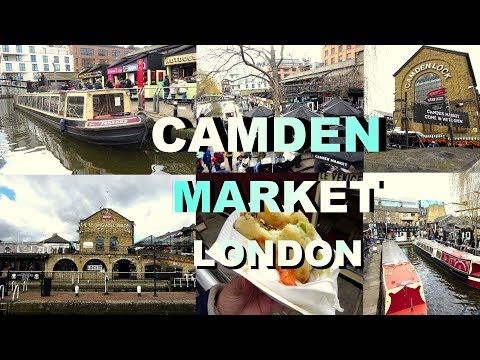 Camden Town London Market Look Travel Food