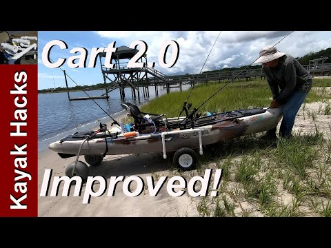 IMPROVED! How To Build A Kayak Cart Or Kayak Dolly