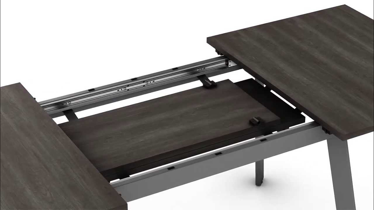 Nexus extendable table table extensible nexus youtube for Table extensible blooma