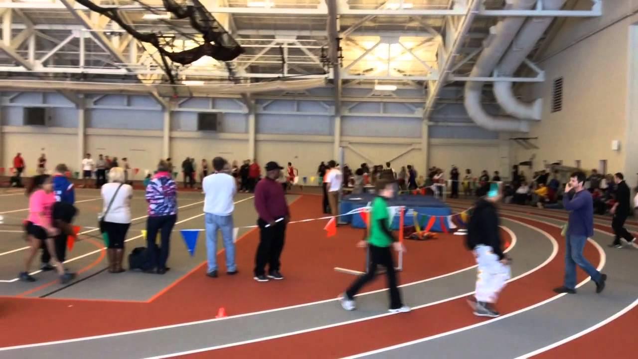 indoor high school meet at oberlin