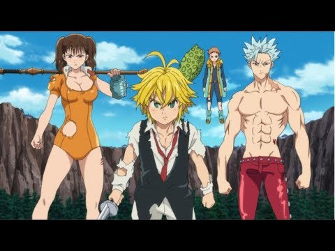 The Seven Deadly Sins: Prisoners of the Sky - Trailer (OmU)